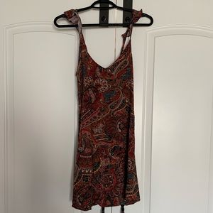 American Outfitters paisley dress